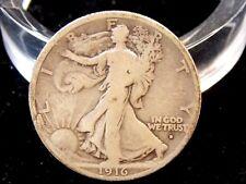 "1916 ""D"" Walking Liberty Half Dollar 50c  East Coast Coin & Collectables, Inc."