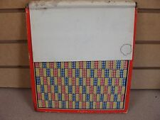 """Old Gambling Punchboard Punch Board """"Nickel Special"""" Pays in Cigarettes Unused"""