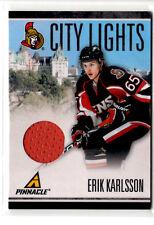 Erik Karlsson     City Lights game used jersey card #051/499