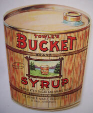 Vintage Towle's Bucket Syrup bridge tally card recipes St. Paul MN 1920's?
