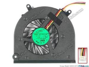Medion Akoya P8614 MD98310 Laptop CPU cooling FAN 5V 0.4A AB7105HX-L03 9270