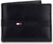 Tommy Hilfiger Men's Sleek Bifold 6 Credit Card Slot Back Wallet