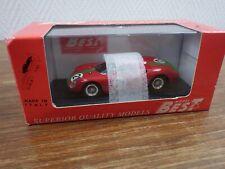 BEST MODEL 1/43 Ref. 9198 FERRARI 250 LM Monza 1966 Siebenthal #21
