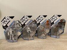 Star Wars Mcquarrie Stormtrooper Rebel Trooper Starkiller Chewbacca 30th Ann MOC