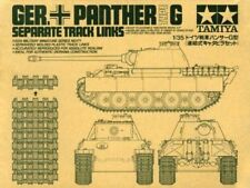 TAMIYA 1/35 Panther Type G Separate Track Links Model Kit NEW from Japan