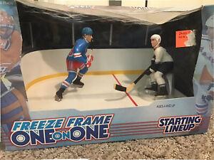 1998 Wayne Gretzky Pavel Bure Freeze Frame Starting Lineup NEW READ NHL Figures