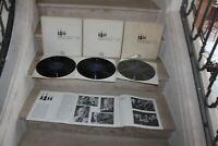3 coffrets de 9 vinyls beethoven. quatuors a cordes- quatuor hongrois n°1 a 17