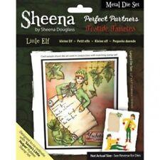 SALE NEW Sheena Douglass Metal Die Set Perfect Partners Christmas Little Elf