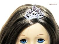 Rhinestone Tiara Crown Metal 18 in Doll Clothes Accessory For American Girl S