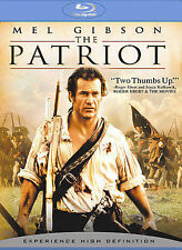 BRAND NEW SEALED: BLU-RAY: THE PATRIOT EXTENDED CUT: MEL GIBSON HEATH LEDGER!!!!