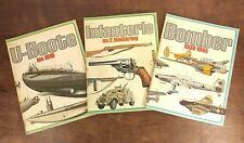 WWII Bomber, Infanterie, U-Boote - Illustrated German Text Paperbacks 1970's