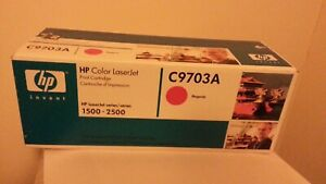 GENUINE HP INK CARTRIDGE--C9703A--COLOUR MAGENTA---NEW AND BOXED