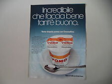 advertising Pubblicità 1977 YOGURT YOMO