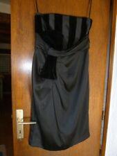 teatro robe et bolero noir satine 38