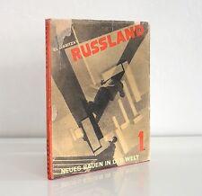el lissitzky RUSSLAND neues bauen in der welt 1930 bauhaus