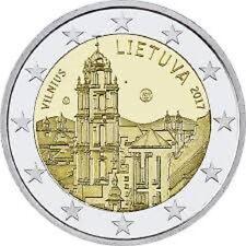 """2 Euro - Lithuania 2017 """"Vilnius"""" - UNC"""