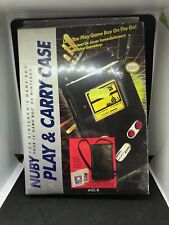 ** Play & Carry Case ** soft bag carry case by Nuby for Nintendo Game Boy