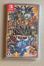 Shovel Knight Nintendo Switch Japan Konami Sealed New!