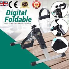 Digital Folding Mini Exercise Bike Arm/Leg Pedal Mobility Aid Cardio Machine New