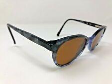Jill Stuart Sunglasses Frame JS375-3 50-19-140 Blue Marble Print RG25
