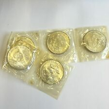 5 X Mexico Mexican Olympics 1968 25 Pesos Silver Coin Sealed