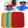Kitchen Silicone Trivet Pot Tray Holder Mat Straightener Resistant Heat Non-slip