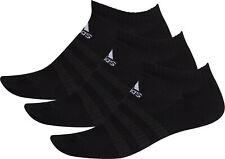 adidas Cushioned (3 Pack) Low Cut Training Socks - Black