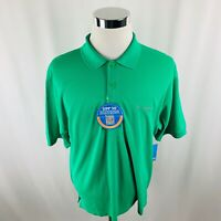 Columbia Omni Shade PFG Vented Fishing Green Polo Shirt Mens Medium M