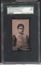 1894 Mayo N302 Football Card-H.W. Barnett-N302-Princeton