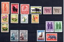 Africa misti 17 Francobolli nuovi MNH