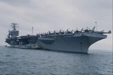 795072 CVN 73 George Washington con AIR WING a bordo A4 FOTO STAMPA