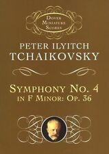 Tchaikovsky Symphony No.4 Op.36 In F Minor Learn to Play Orchestra Music Book