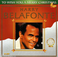 HARRY BELAFONTE To Wish You A Merry Christmas CD