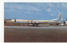 Lineas Aereas Sudamericana Canadair CL-44D-4 Aviation Postcard, A644