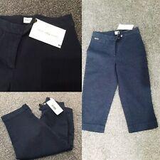Calvin Klein Navy Cropped Jeans 97% Cotton 3% Elastane SZ 26 Waist BNWT