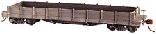 40' Early Steel Flat car or wood side gondola  kit with ACL decals HO Scale