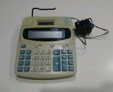 Tested - Works - Victor 1212-2 Desk Calculator 12 digit, Lg. Lcd, Bat or Ac