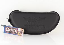 New Authentic BlackFlys Lightweight Large Zip Sunglasses Case Black w/ Cloth
