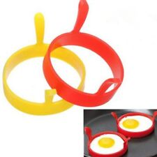 1Pc Stainless Steel Kitchen Mould Heart-shaped Fried Egg Shaper V7Z2