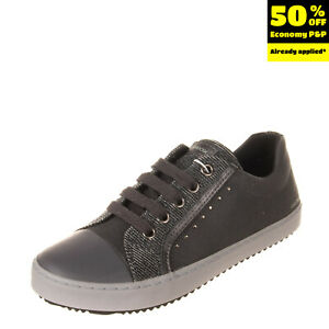 GEOX RESPIRA Sneakers EU30 UK11.5 US12 Breathable Antibacterial Antishock Logo