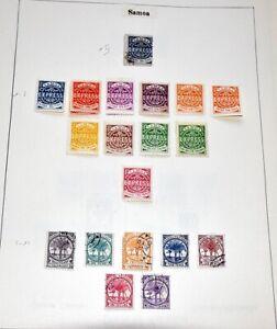 SAMOA Gute Sammlung ab der Nr. 1 Selten Angeboten