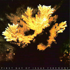 #1827-1830 First Day Ceremony Program 15c Coral Reefs Stamps