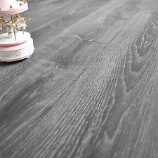 Parquet flottant stratifié - Chêne Tokyo - Bois gris blanchi - Sol clipsable