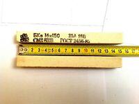 1 Stück Schleifstein Edelkorund 150x16x16mm Korn ca. (F90), grob,