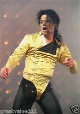 MICHAEL JACKSON PHOTO 1996 UNRELEASED HUGE 12 INCH X 8 INCH COLOUR UNIQUE RARE