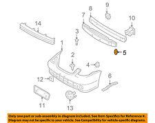 NISSAN OEM Front Bumper-Side Bracket Grommet 0128101321
