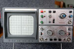 Oscilloscope HAMEG HM203 2x20MHz TBE
