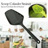 1x Home Kitchen Accessories Scoop Drain Gadgets Strainer Vegetable Large Tool