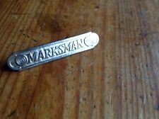 ORIGINAL US WWII WW2 VIETNAM MARKSMAN AWARD BADGE RARE
