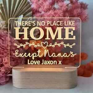 Personalised Mothers Day Gift Light - Except Nana's
